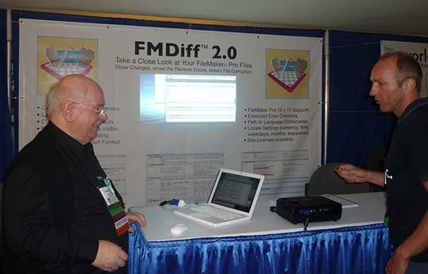 The new FMDiff booth